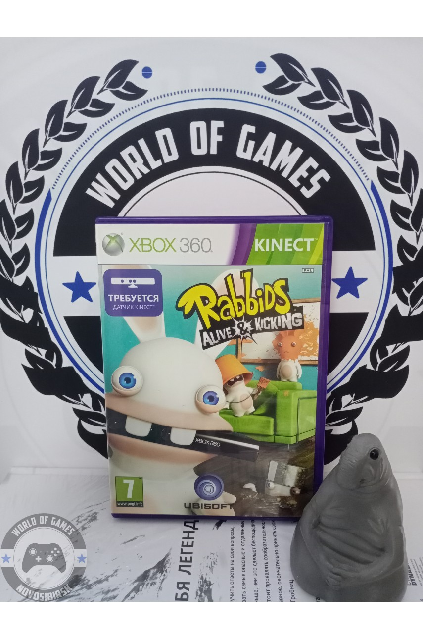 Rabbids Alive & Kicking [Xbox 360]