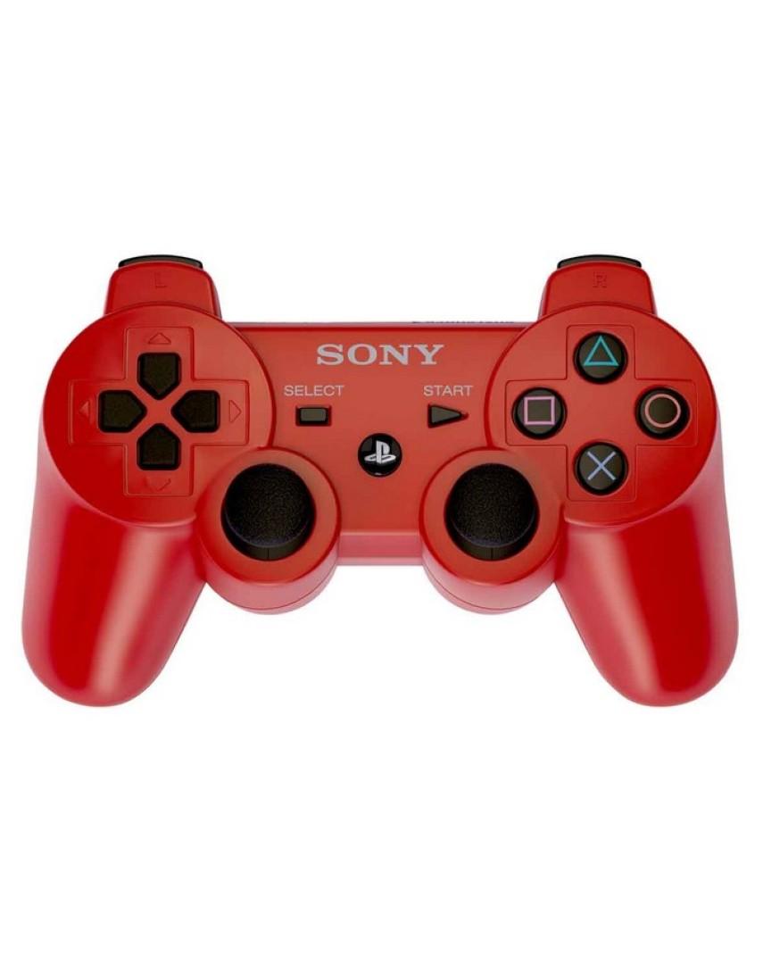 Геймпад для PS3 Dualshock 3 Red