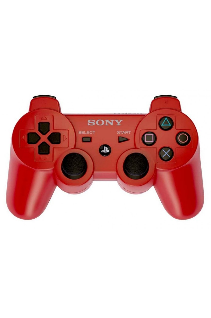 Геймпад для PS3 Dualshock 3 Red