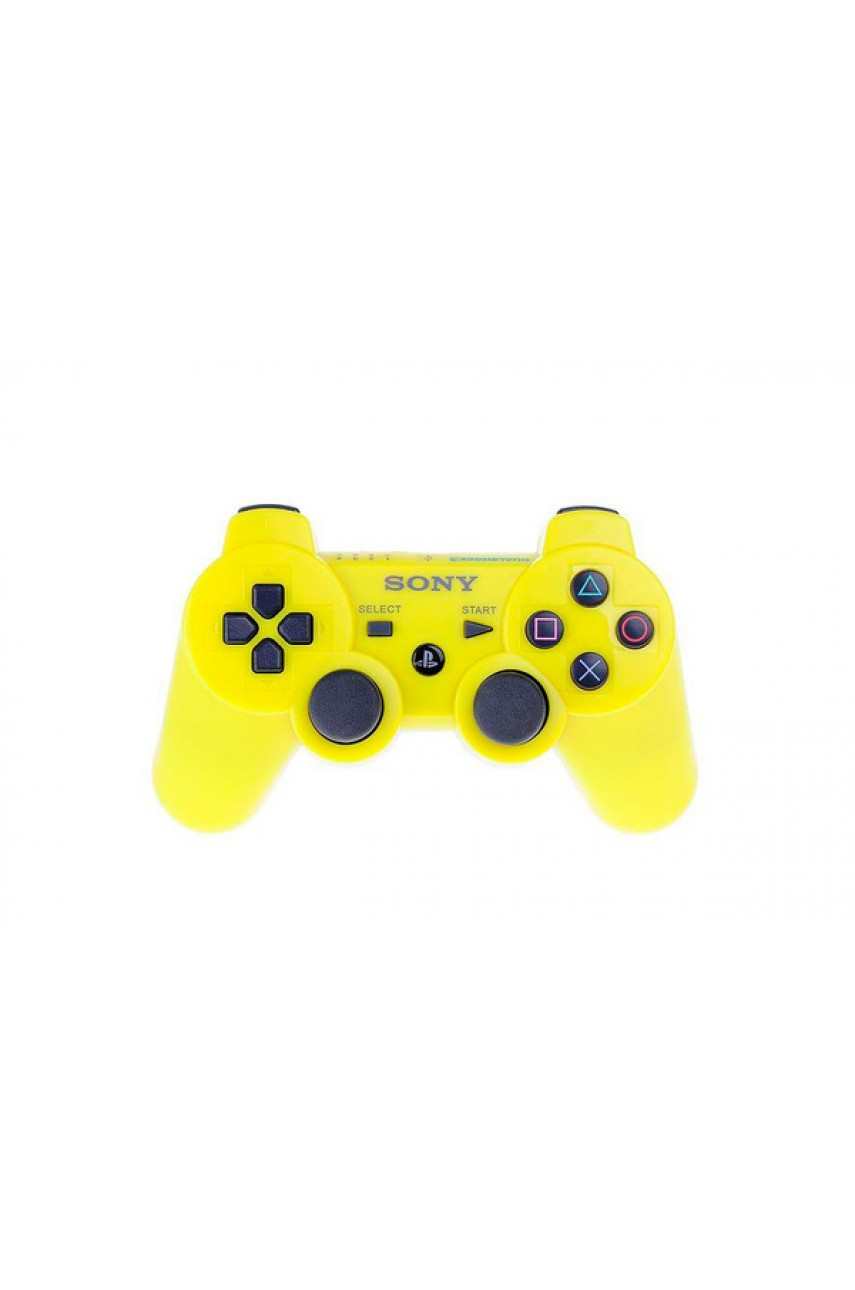 Геймпад для PS3 Dualshock 3 Yellow