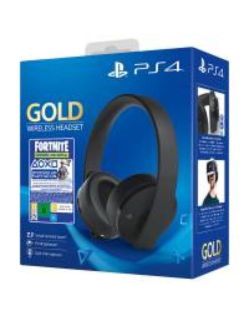 Наушники для PS4 Gold (NEW)