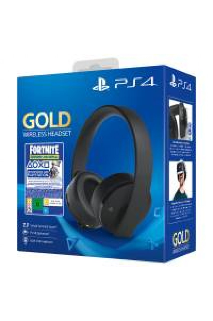 Наушники для PS4 Gold (NEW)