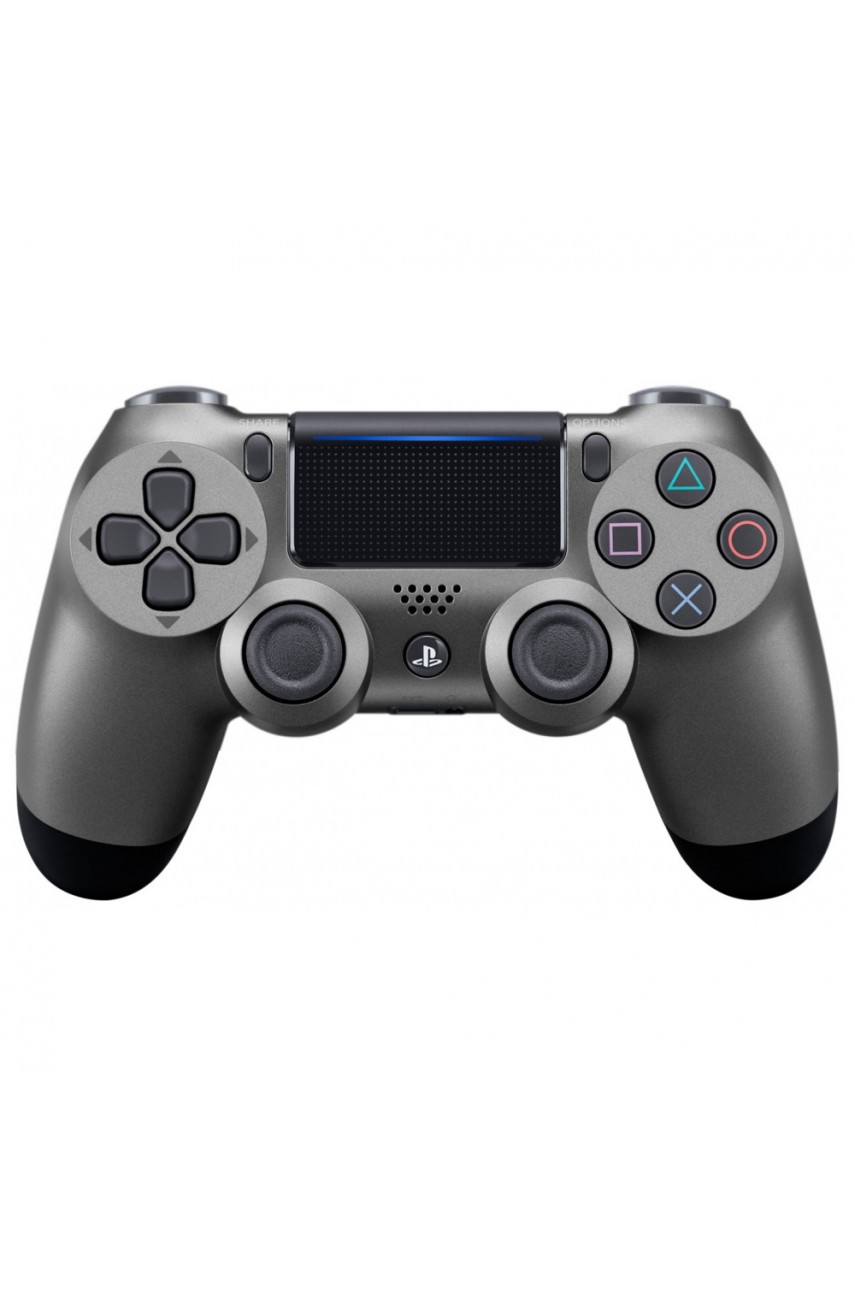 Геймпад для PS4 Dualshock 4 Black Steel (Дубль)