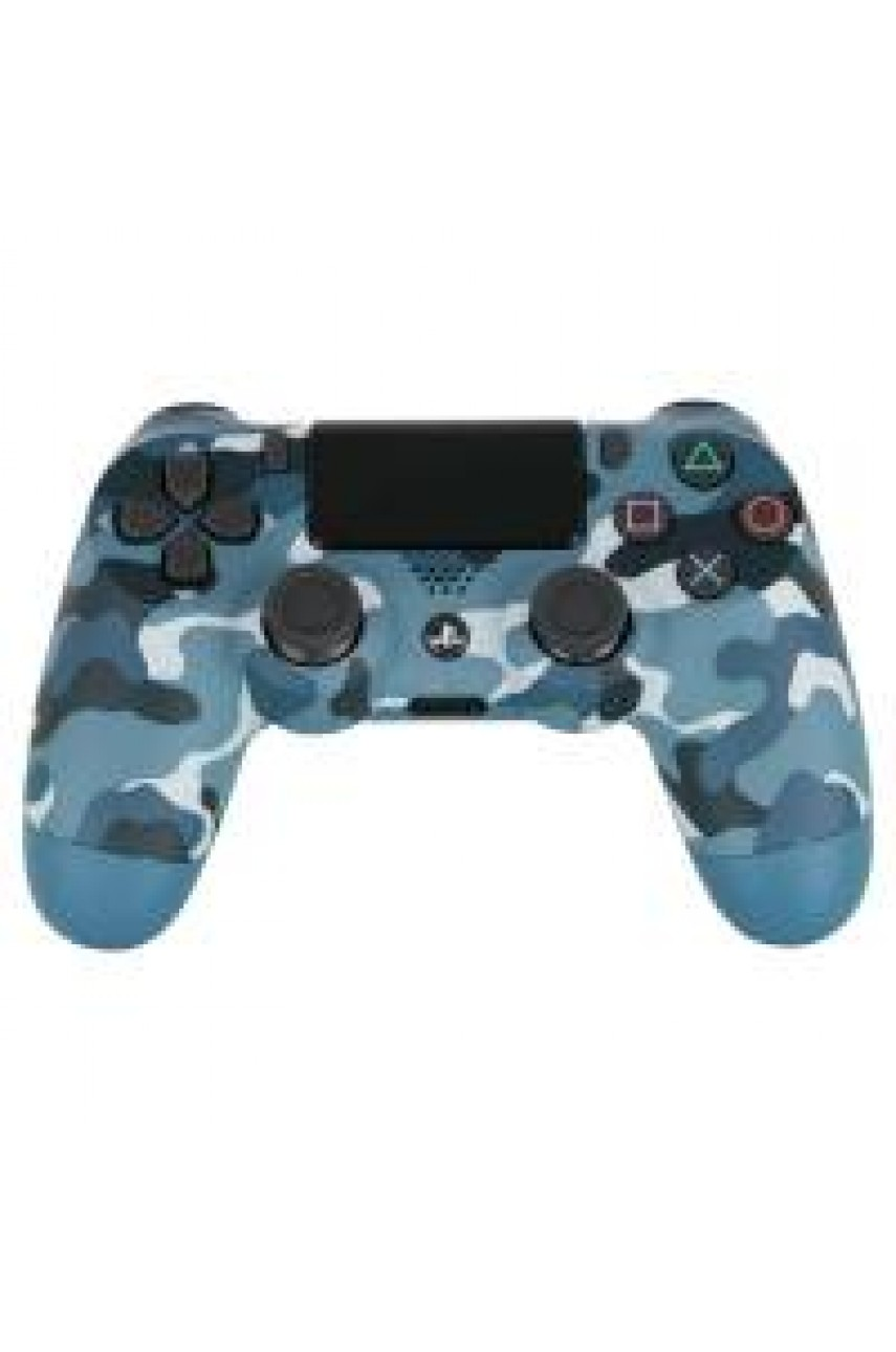 Геймпад для PS4 Dualshock 4 Blue Camouflage