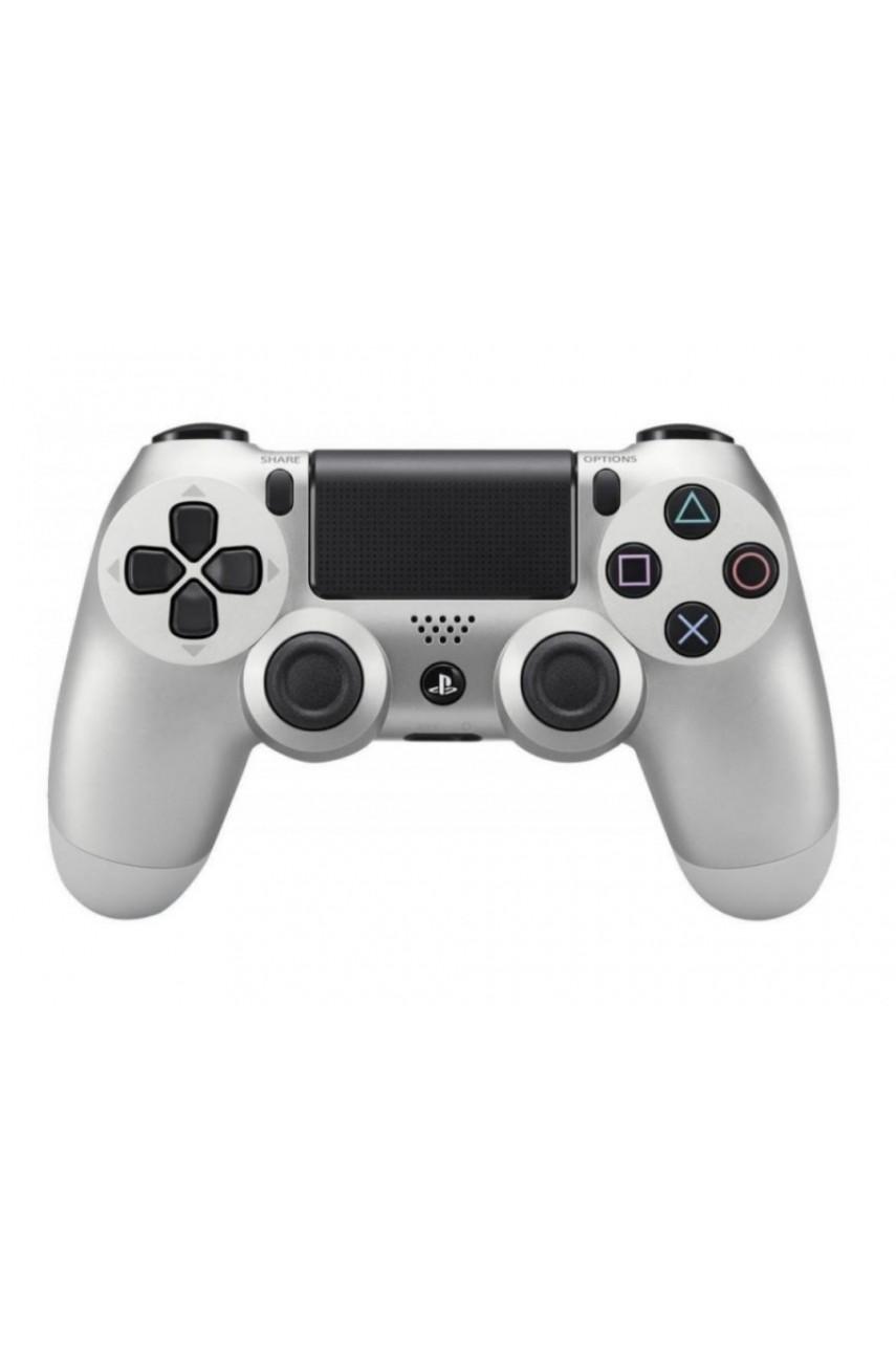 Геймпад для PS4 Dualshock 4 Silver (Дубль)